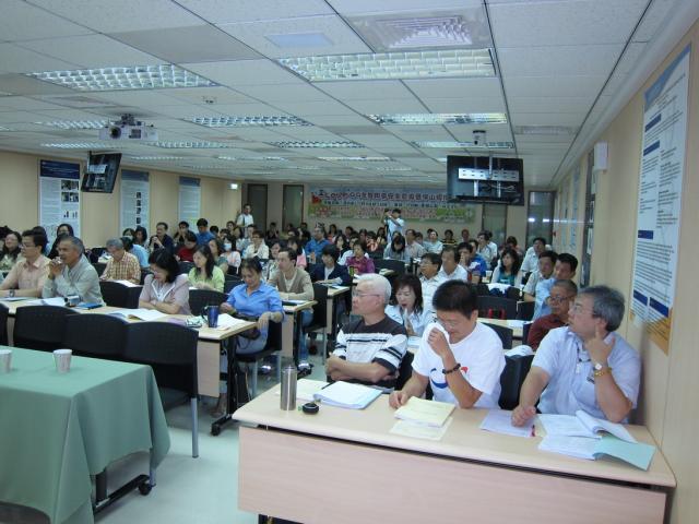 本次研討會座無虛席,藥師們踴躍報名參與